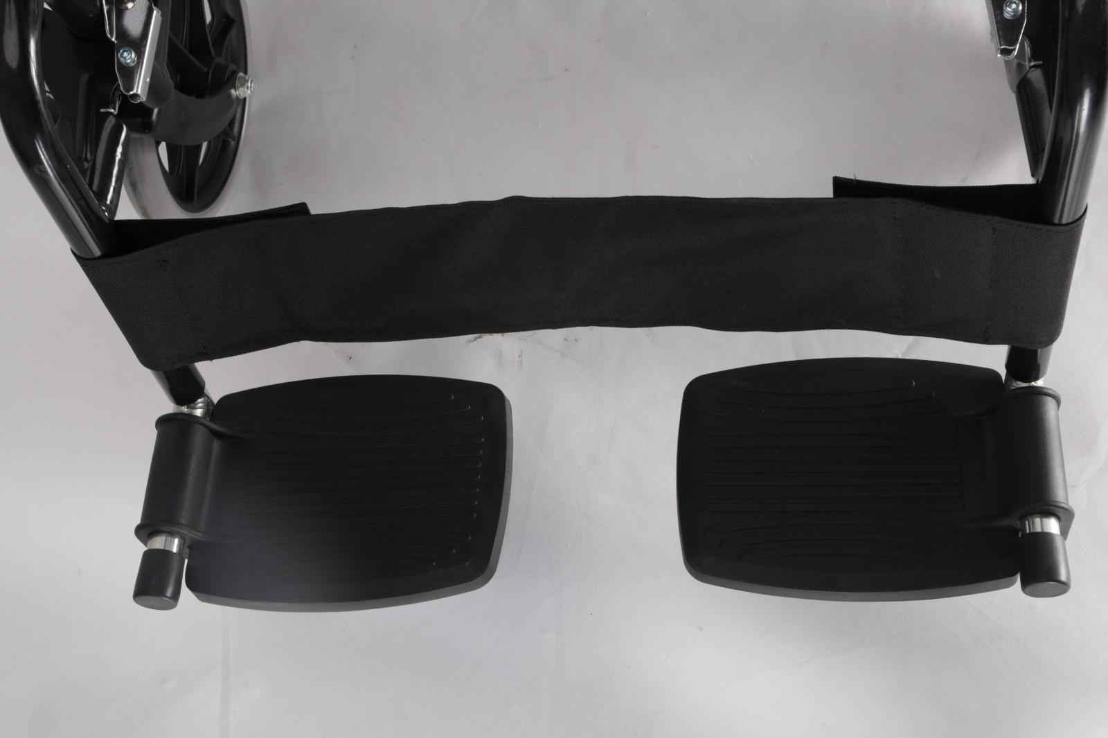 basic steel manual wheelchair