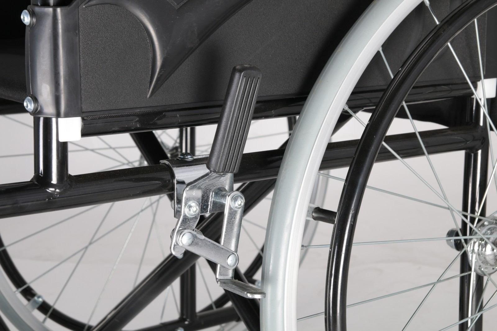 steel manual wheelchair for handicap