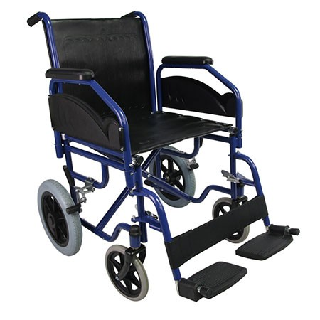 Hospital Steel Transport Wheelchair