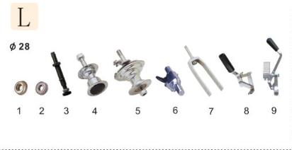 Wheelchair Small Metal Part