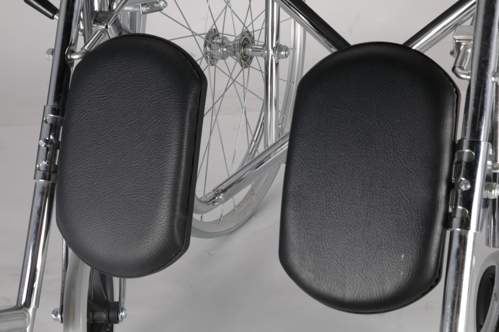 high end steel manual wheelchair