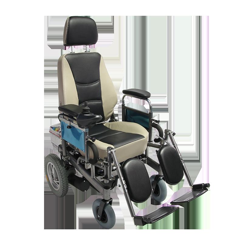 Medical High Back Folding Power Wheelchair Manufacturers, Medical High Back Folding Power Wheelchair Factory, Supply Medical High Back Folding Power Wheelchair