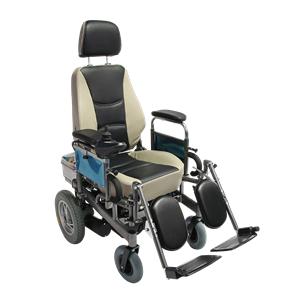Medical High Back Folding Power Wheelchair