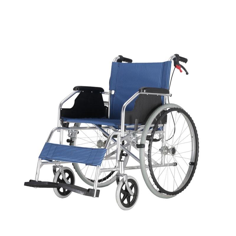 Fold Up Aluminium Light Weight Frame Manual Wheelchair