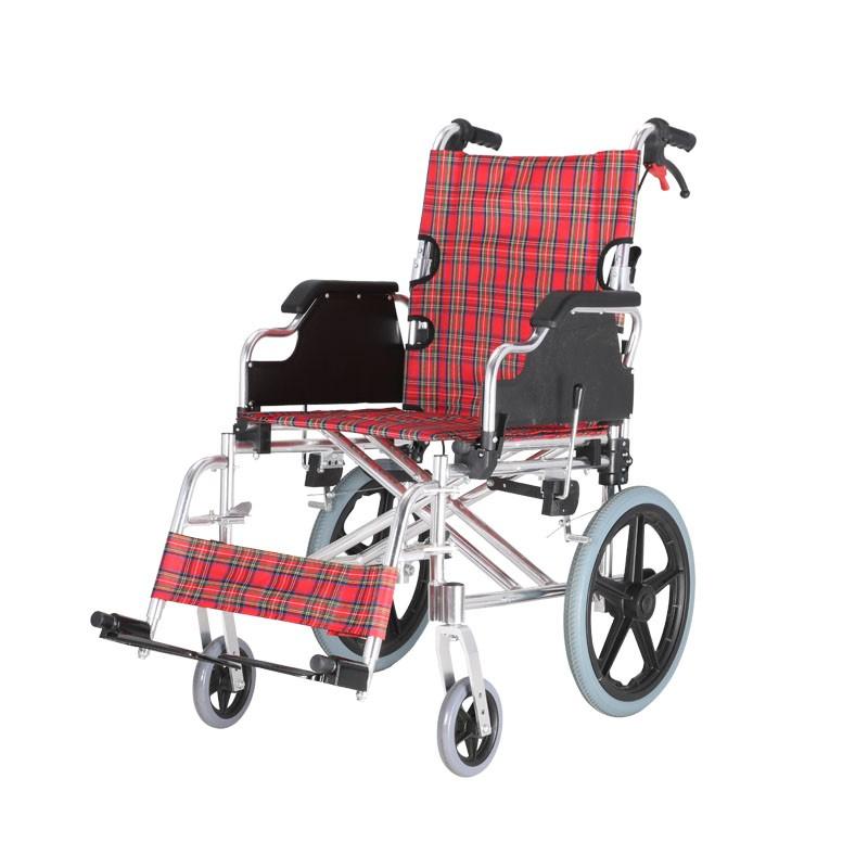 Aluminium Basic Half Folding Manual Wheelchair