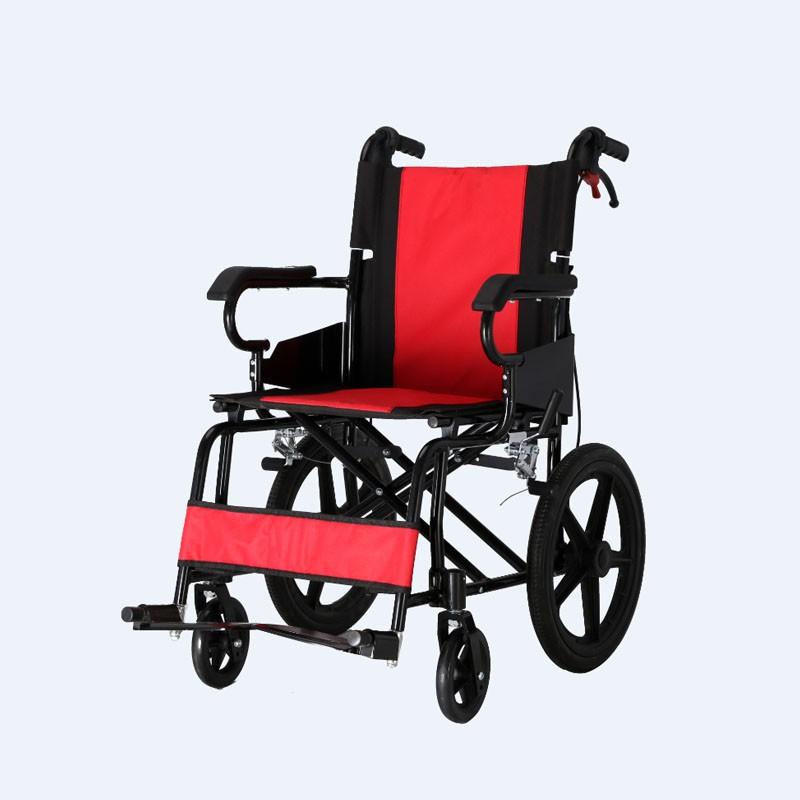 Aluminium Foldable Portable Transit Wheelchair