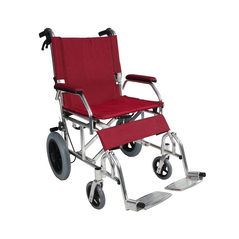 Aluminum Light Weight Transportation Wheelchair