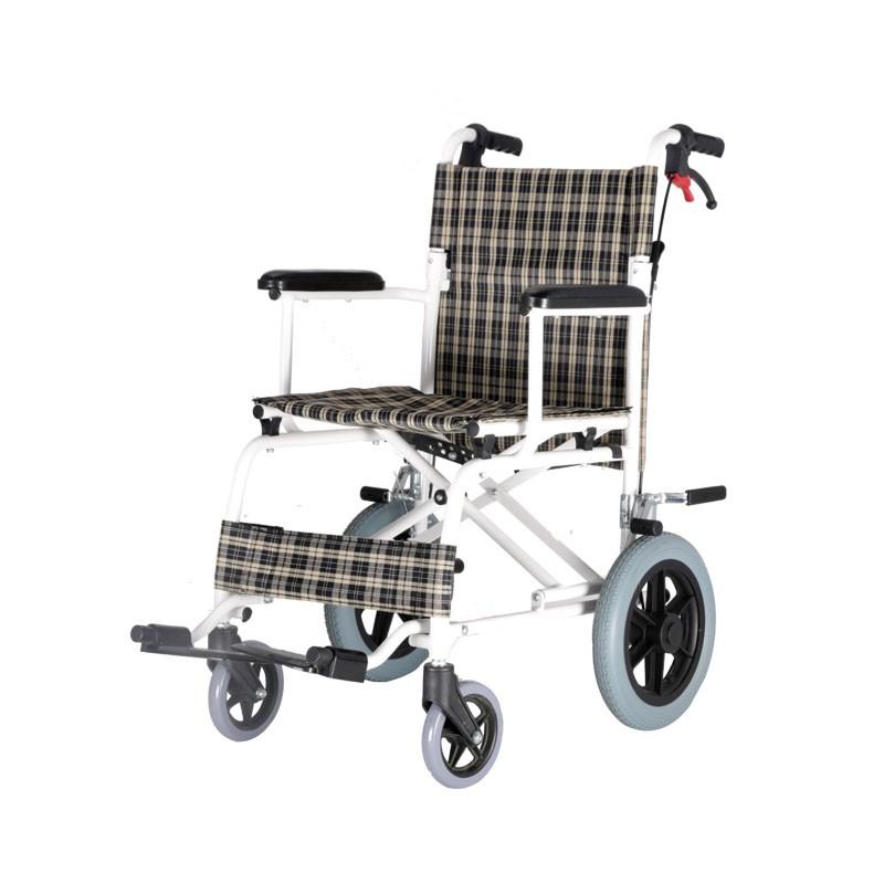 Aluminium Portable Transport Wheelchair