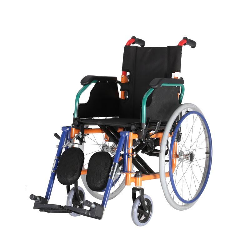 Medical Steel Foldable Pediatric Wheelchair