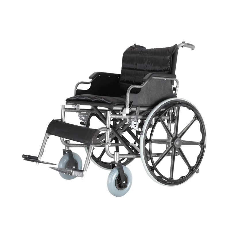 Basic Bariatric Steel Manual Wheelchair