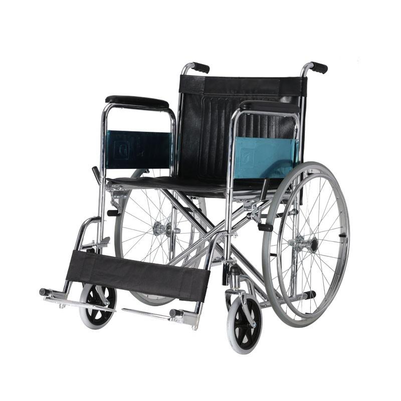Medical Steel Manual Wheelchair For Handicap