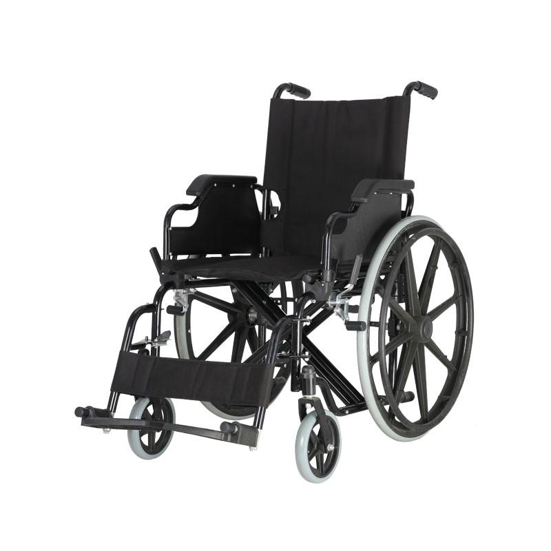 Hospital Steel Manual Wheelchair