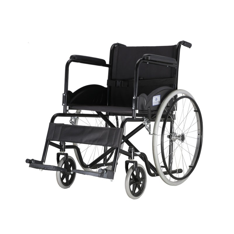 Hospital Steel Manual Wheelchair For Handicap Manufacturers, Hospital Steel Manual Wheelchair For Handicap Factory, Supply Hospital Steel Manual Wheelchair For Handicap