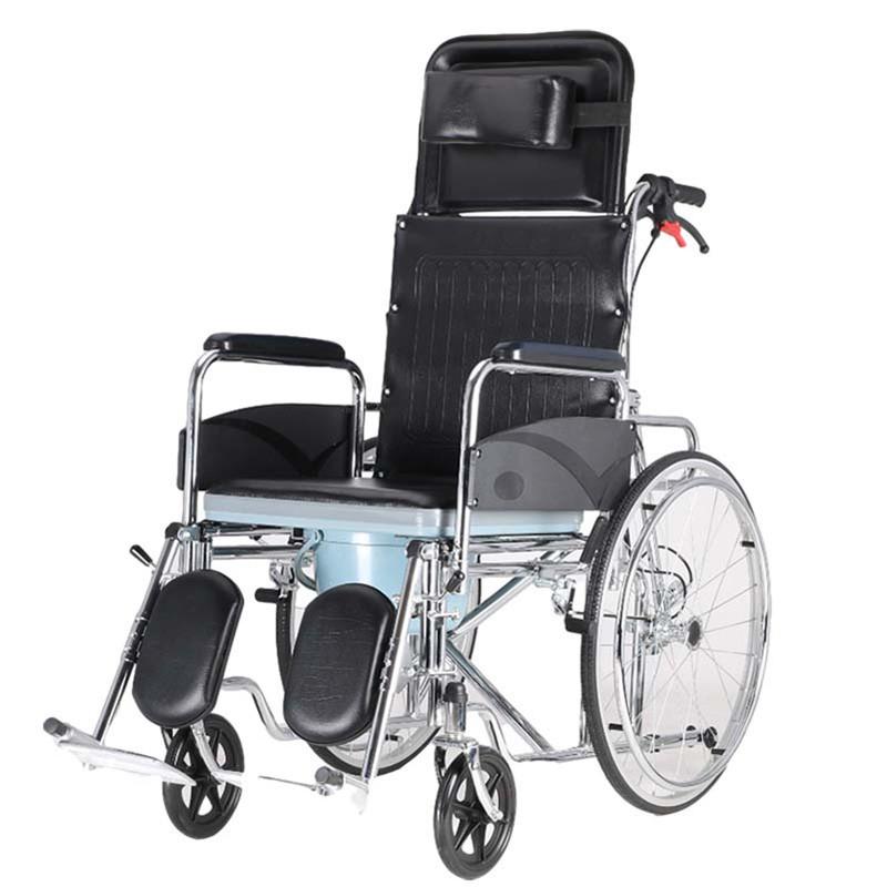 Reclining High Back Fold Up Wheelchair