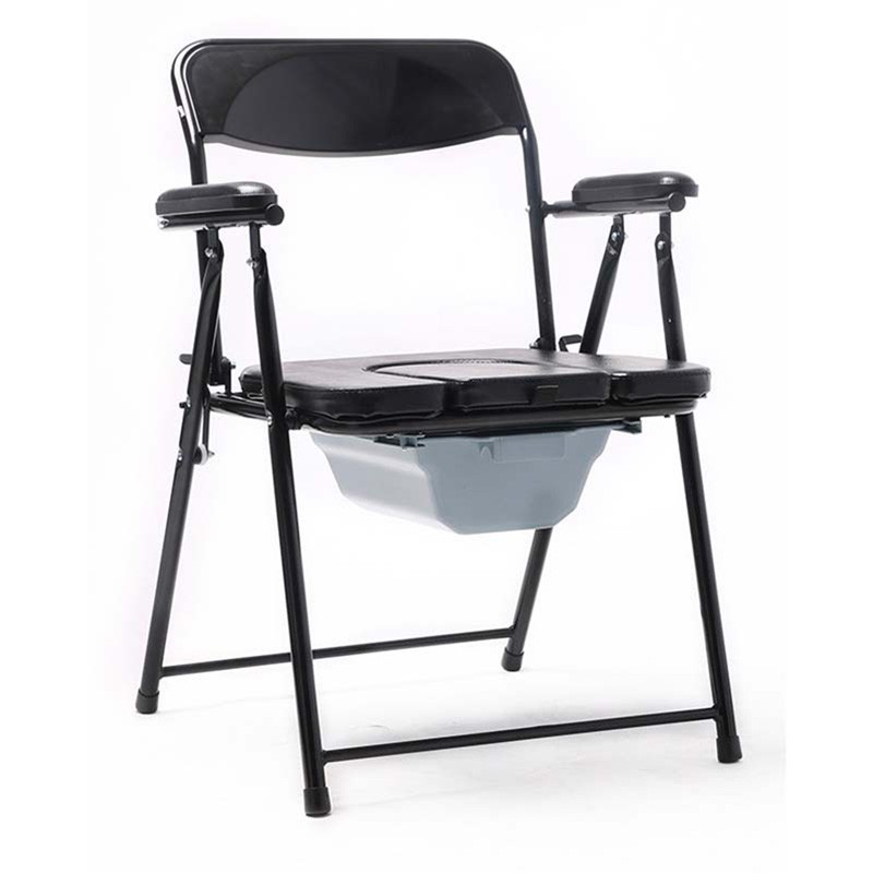 Bedside Foldable Commode For Patients