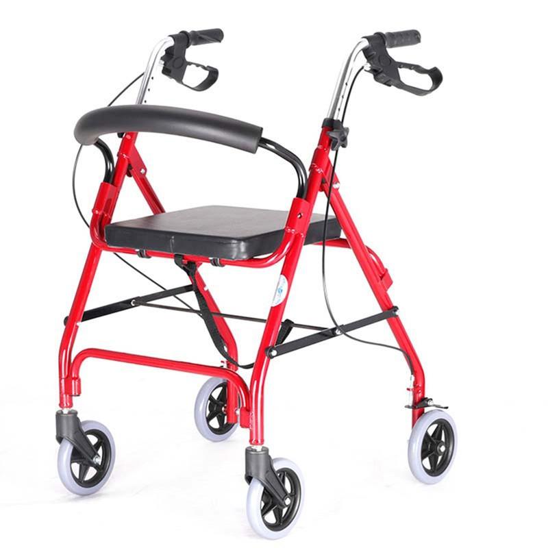 Aluminium Dual Use Rollator With Seat