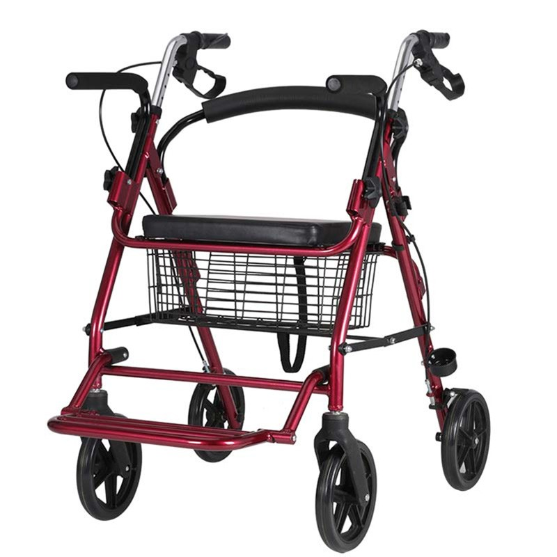 Light Weight All Terrain Rollator With Seat Manufacturers, Light Weight All Terrain Rollator With Seat Factory, Supply Light Weight All Terrain Rollator With Seat