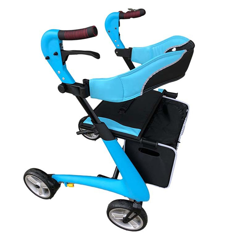 Fold Up Rollator With Seat