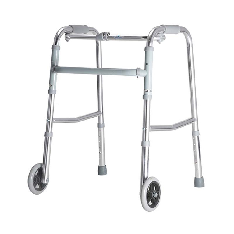 Domestical Height Adjustable Walker With 2 Wheel