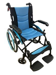 Aluminium Portable Folding Wheelchair