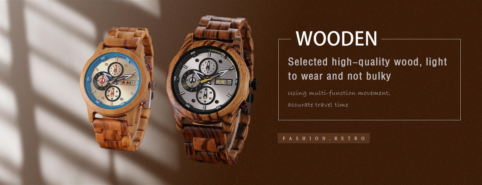 Full Wooden Watch