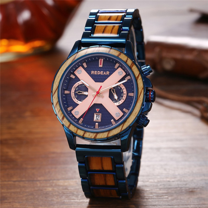 Fashion Water Resistant Aluminum Alloy Watch