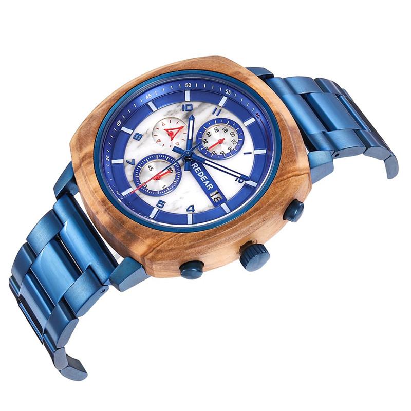 New Design Stainless Steel Wooden Watch Manufacturers, New Design Stainless Steel Wooden Watch Factory