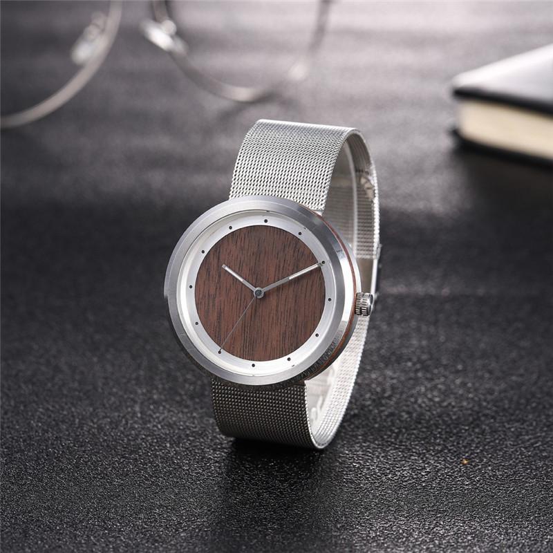 Ceas de mână din oțel inoxidabil pentru încheietura lunii