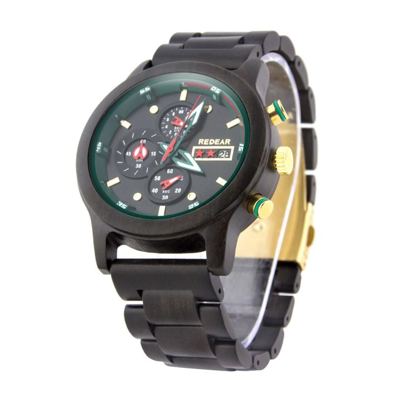 Lightweight Wooden Wristwatch