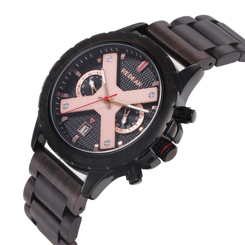 wood watch simple