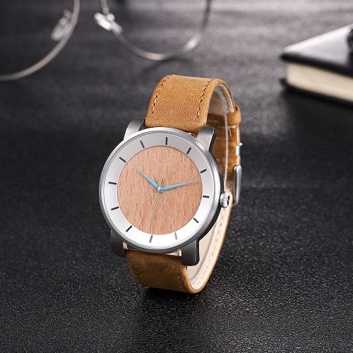 Soft wooden watch