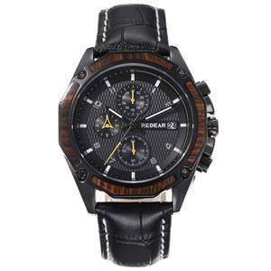 Custom Luxury Leather Band Quartz Watch