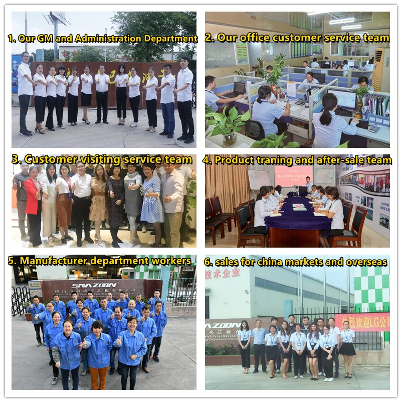 Workers traning and meeting
