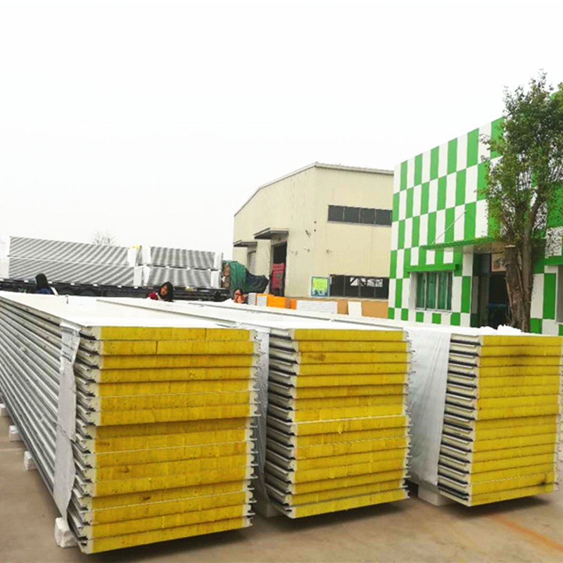 Roof Panel Glasswool Sandwich Panel For Building House