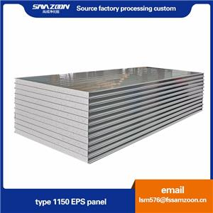 Eco-friendly Building Material Clean Room Polystyrene Insulation Panels
