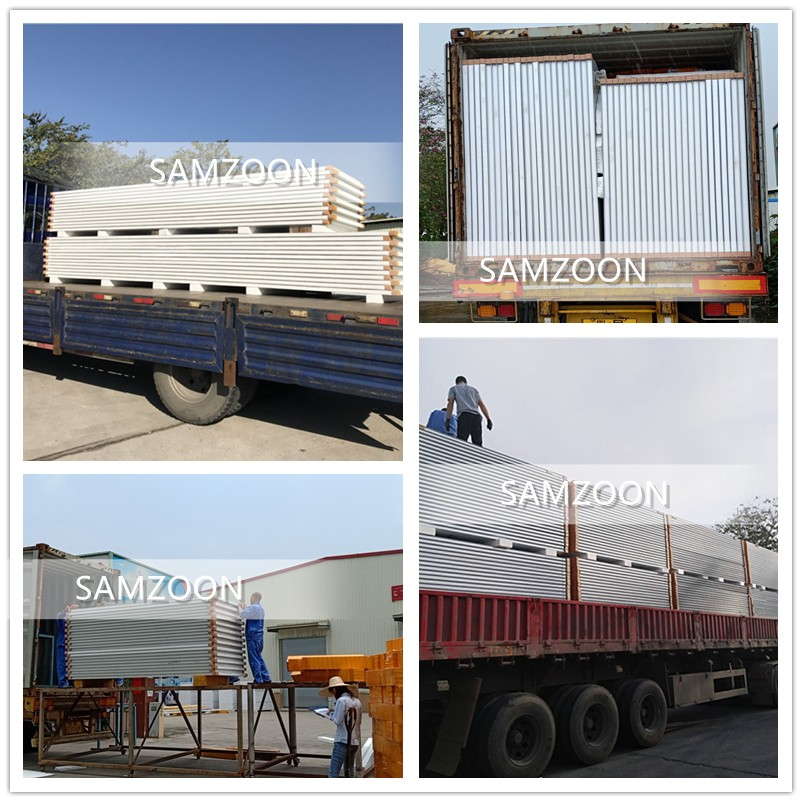 Loading goods in container