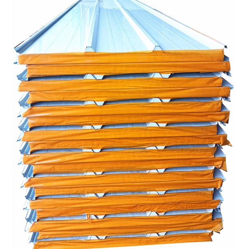 옥외 벽면 폴리스티렌 패널 외부 벽 지붕 샌드위치 패널