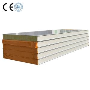 Outdoor Building Material Rockwool Sandwich Roof Panel For Wall And Roof Rockwool Sound Panels