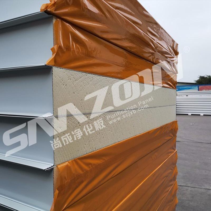 Fireproof Pu Panel Wall Pir Pu Sandwich Panel Roof Sheet Polyurethane Cold Room Panels