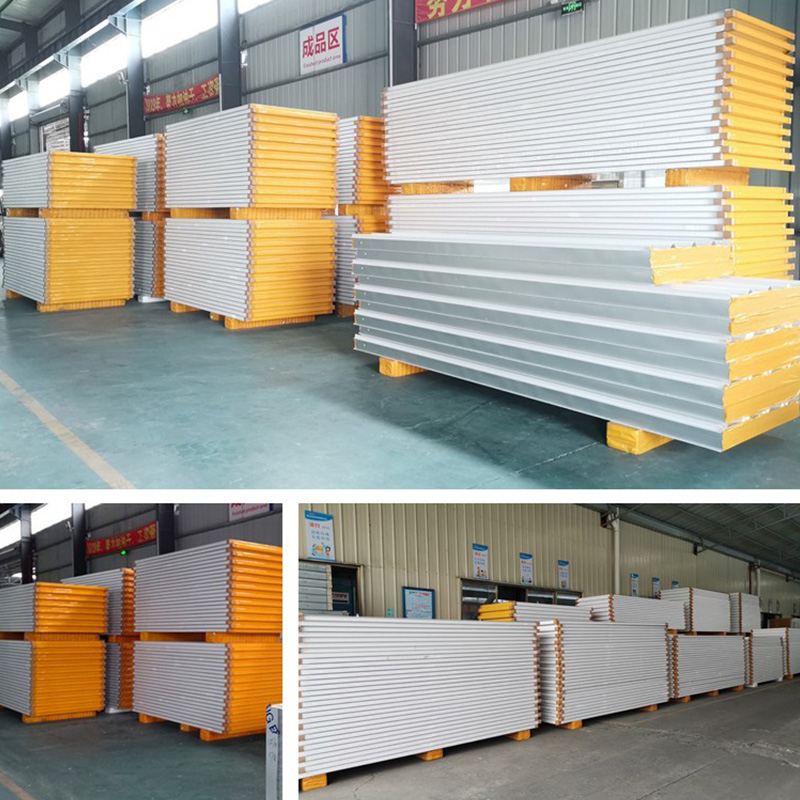 Building Materials Outdoor Eps Sandwich Panels Walls Expanded Polystyrene EPS Coolroom Panel