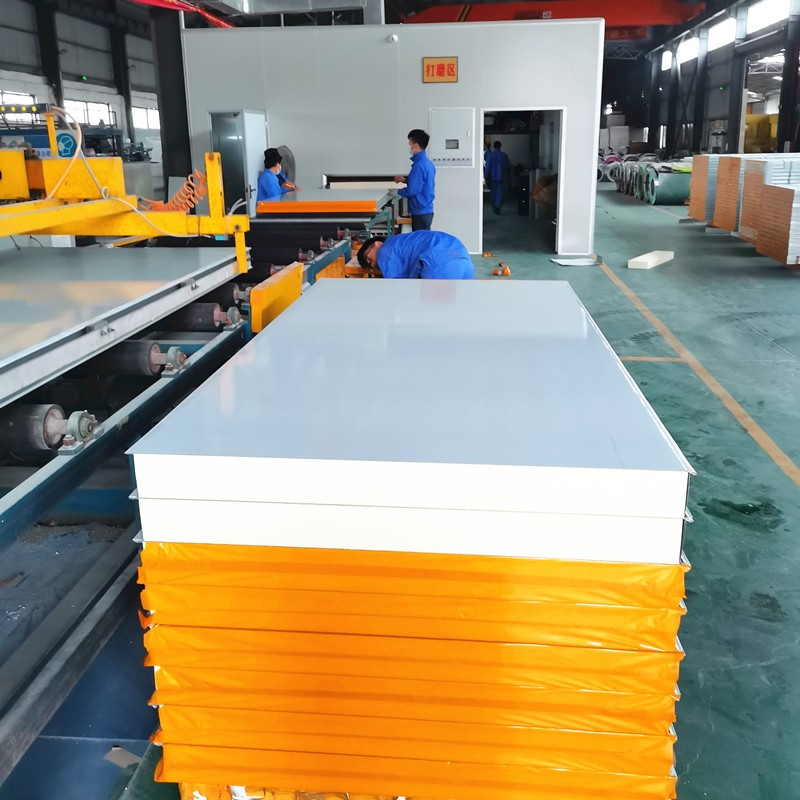 Food And Drink Factory Building Sandwich Panel Production Line Use Sandwich Panel Pu Manufacturers, Food And Drink Factory Building Sandwich Panel Production Line Use Sandwich Panel Pu Factory, Supply Food And Drink Factory Building Sandwich Panel Production Line Use Sandwich Panel Pu
