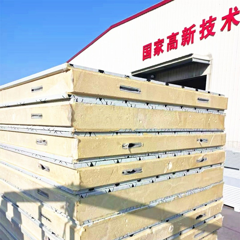 Easy Move Pu Sandwich Panel Roof Wall For Container House Pu Wall Panel