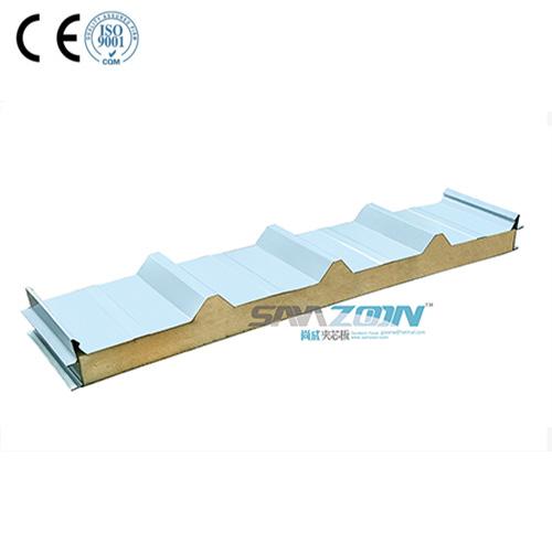 Pu 지붕 샌드위치 패널 좋은 가격 샌드위치 패널 생산