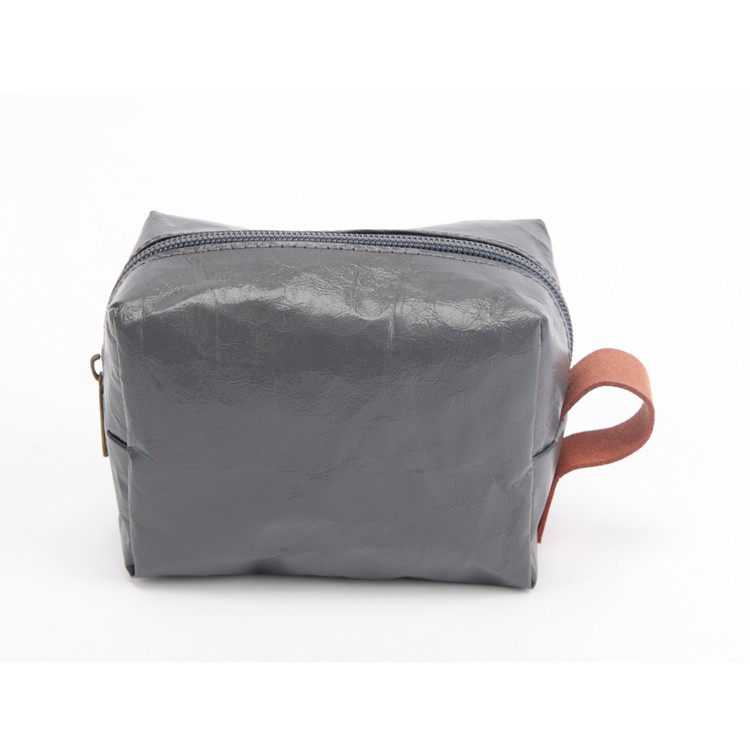 Hot Selling Kraft Gray Purse Small Bag Paper Handbag