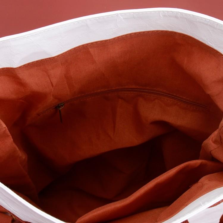 Knead Texture Kraft White Waterproof Backpack School Bag Manufacturers, Knead Texture Kraft White Waterproof Backpack School Bag Factory, Supply Knead Texture Kraft White Waterproof Backpack School Bag