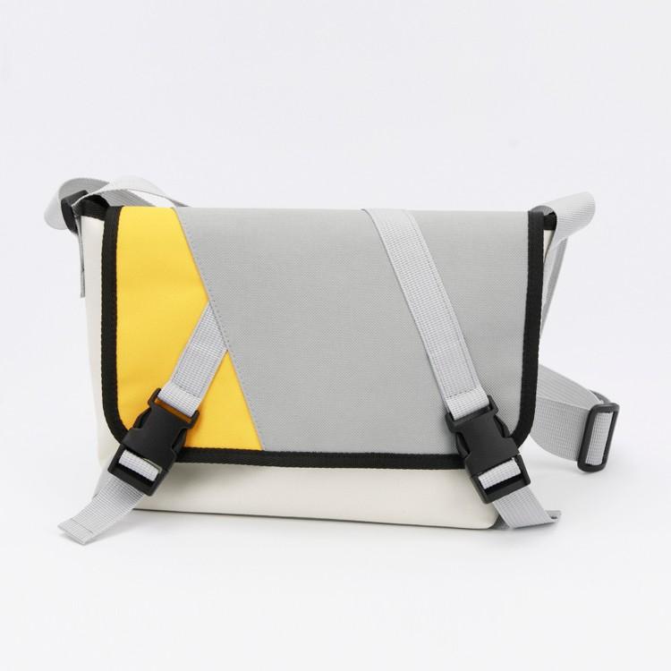 Contrast-color Multifunctional Unisex Travel Bag Messenger Bag for Outdoor