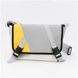 Contrast-color Multifunctional Unisex Travel Bag Messenger Bag for Outdoor