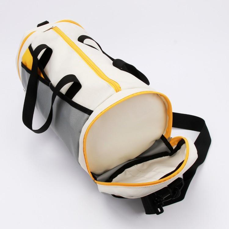 Duffle Sport Canvas Bag Unisex Holdall Multi-pockets Bag