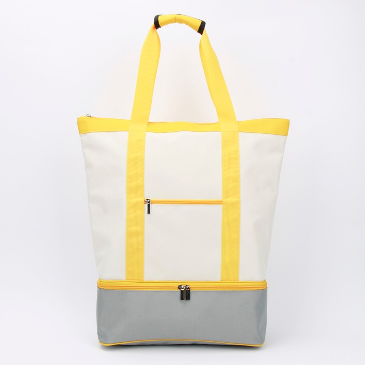 Large Canvas Tote Bag Double-deck Shopping Bag Manufacturers, Large Canvas Tote Bag Double-deck Shopping Bag Factory, Supply Large Canvas Tote Bag Double-deck Shopping Bag