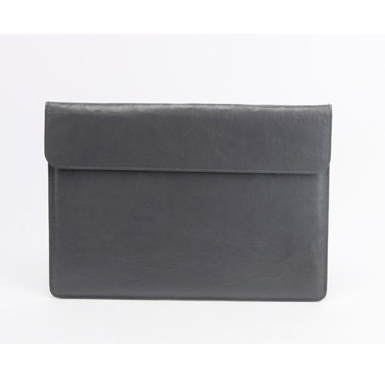 Knead Texture Kraft Gray Case Laptop IPad Bag Computer Sleeve